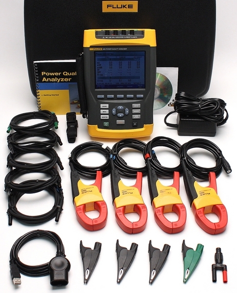 Fluke Power Meter Probes : Power quality analyzer archives